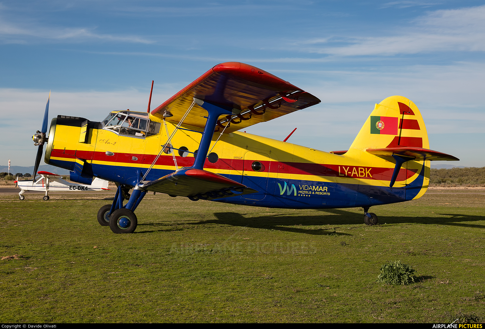 Private LY-ABK aircraft at Casarrubios del Monte