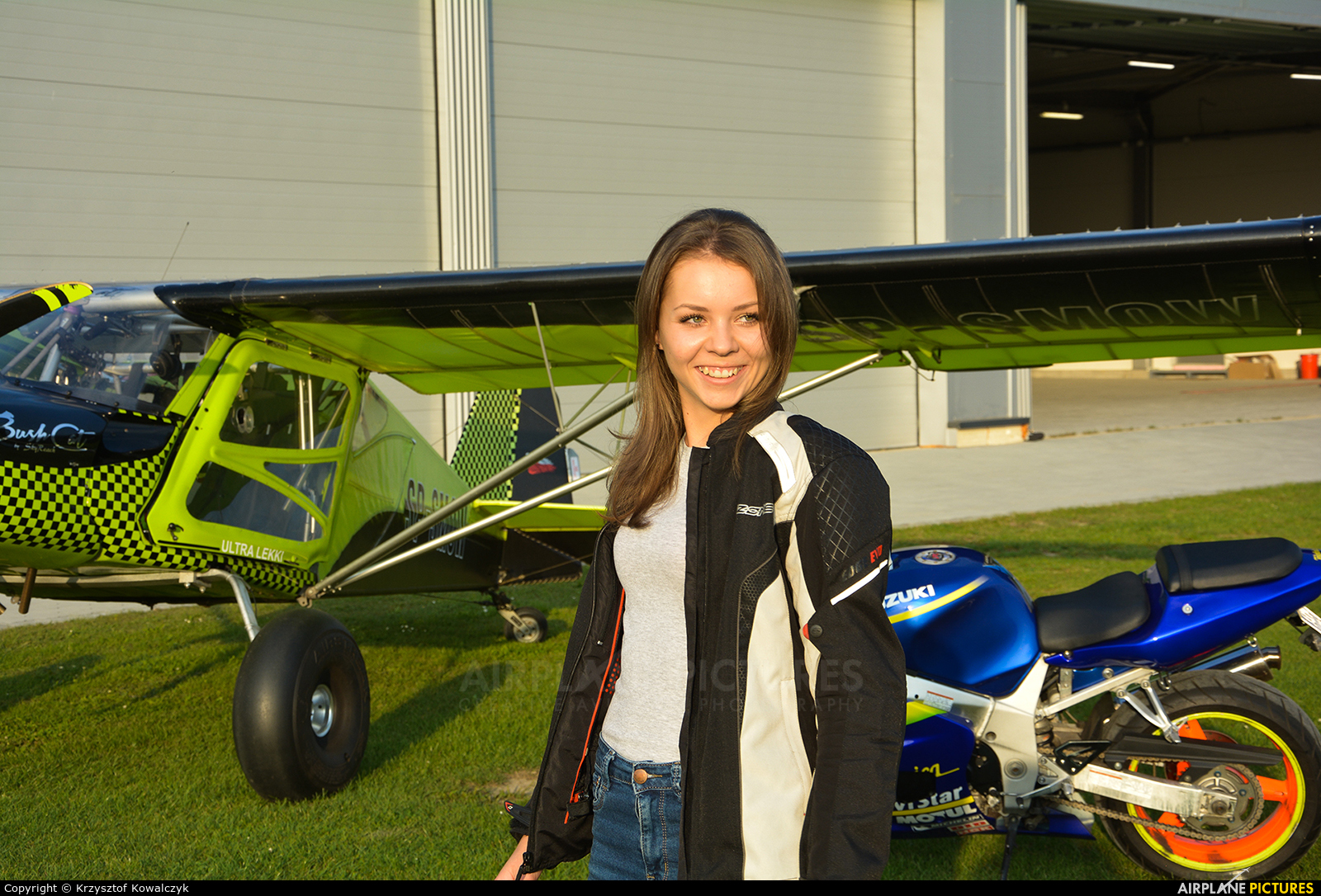 - Aviation Glamour  aircraft at Rybnik - Gotartowice