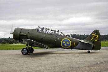 SE-FVU - Swedish Air Force Historic Flight North American AT-6A Texan