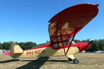 PH-NDA - Private Piper PA-12 Super Cruiser