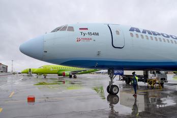 RA-85757 - Alrosa Tupolev Tu-154M