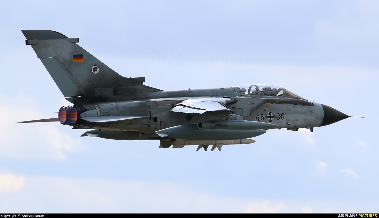 Germany - Air Force 46+36 aircraft at Rostock - Laage
