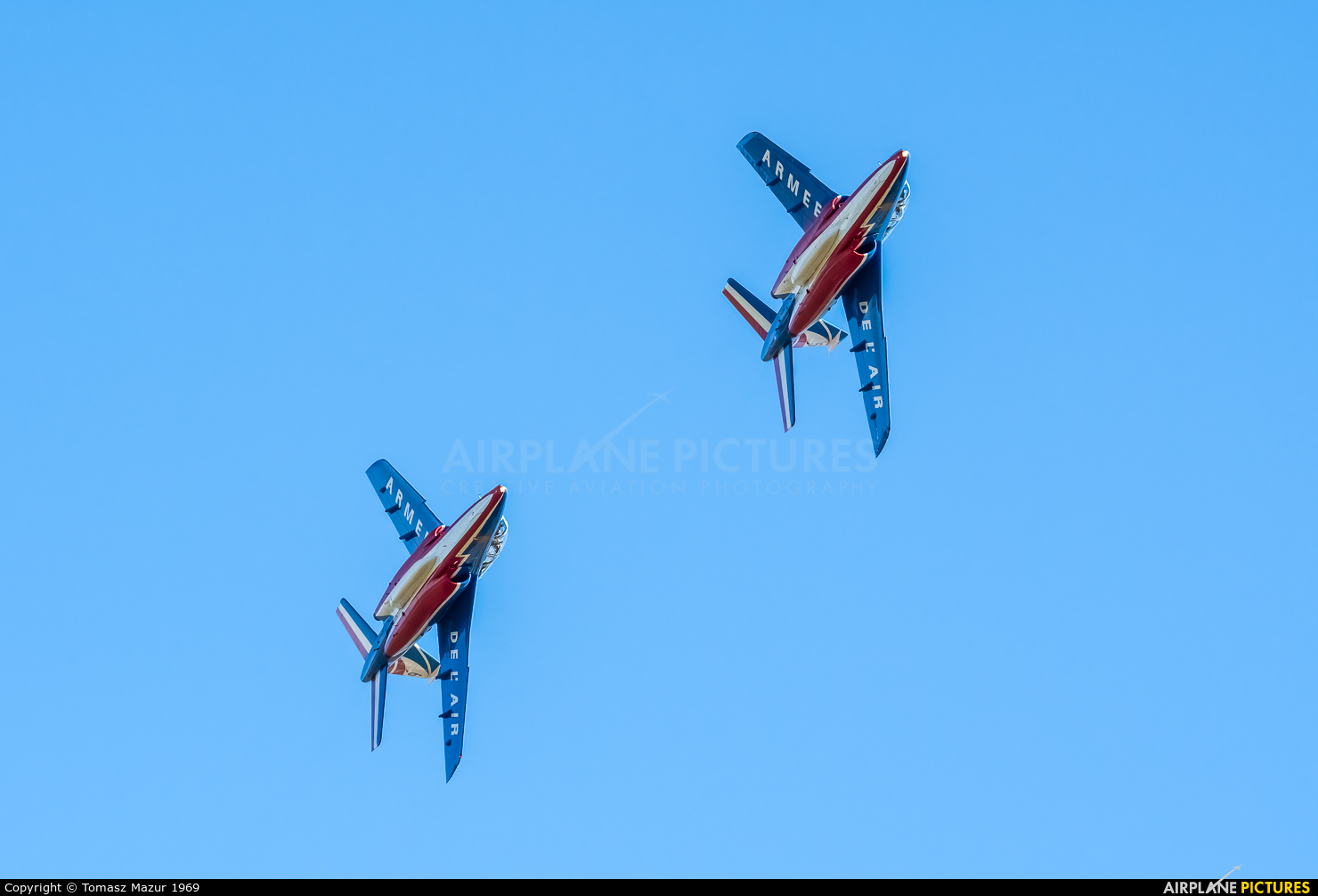 "France - Air Force ""Patrouille de France"" E44 aircraft at Ostrava Mošnov"