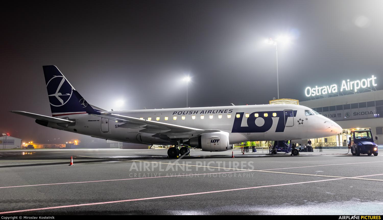 LOT - Polish Airlines SP-LDI aircraft at Ostrava Mošnov