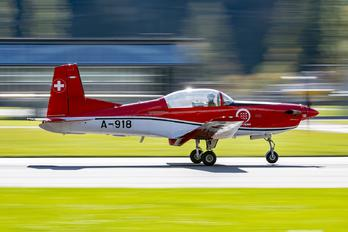 A-918 - Switzerland - Air Force Pilatus PC-7 I & II