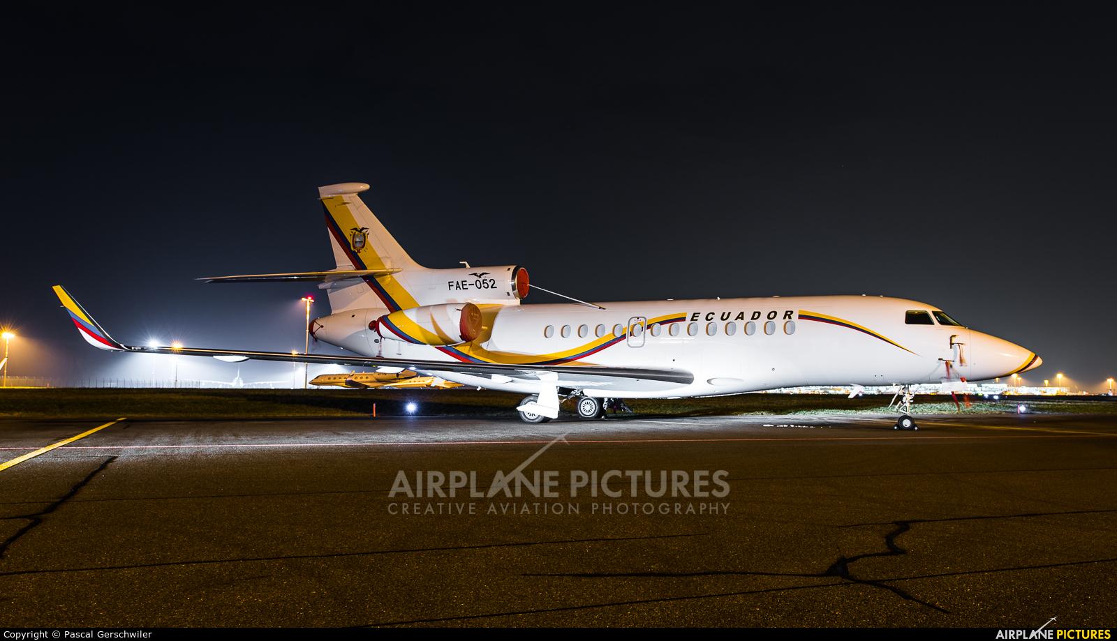 Ecuador - Air Force FAE-052 aircraft at Zurich