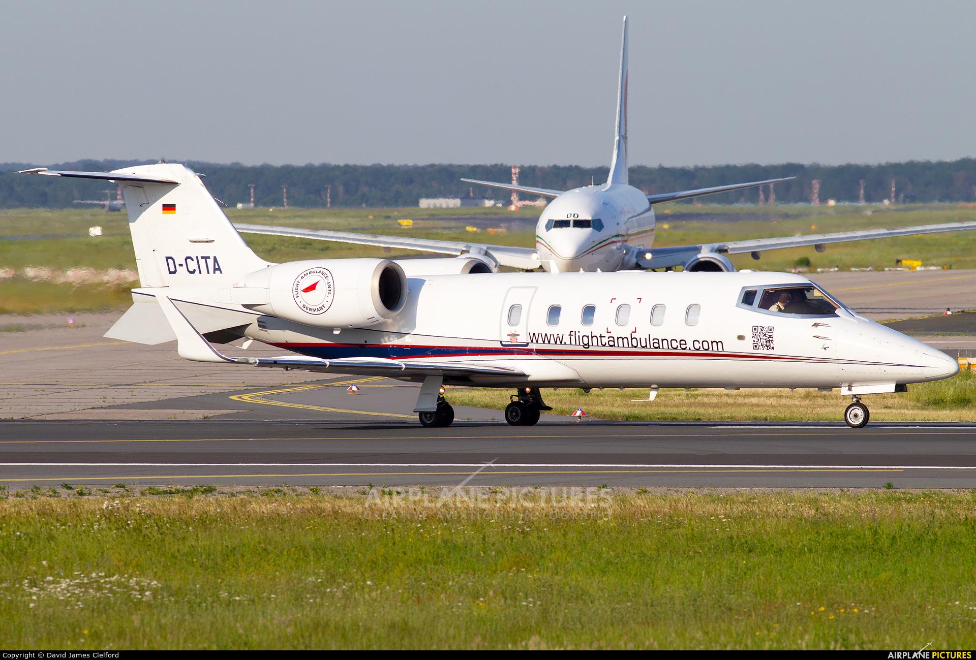 Private D-CITA aircraft at Frankfurt