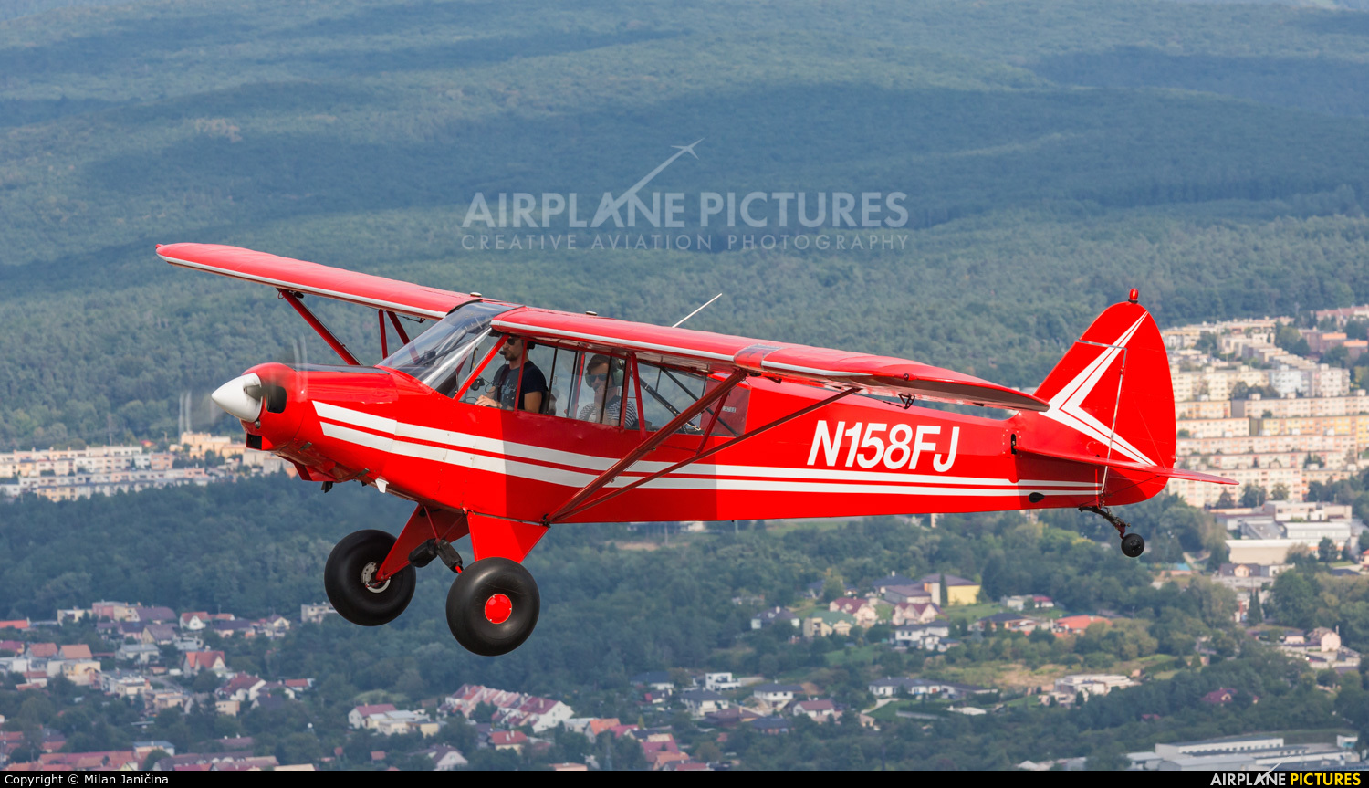 Private N158FJ aircraft at In Flight - Slovakia