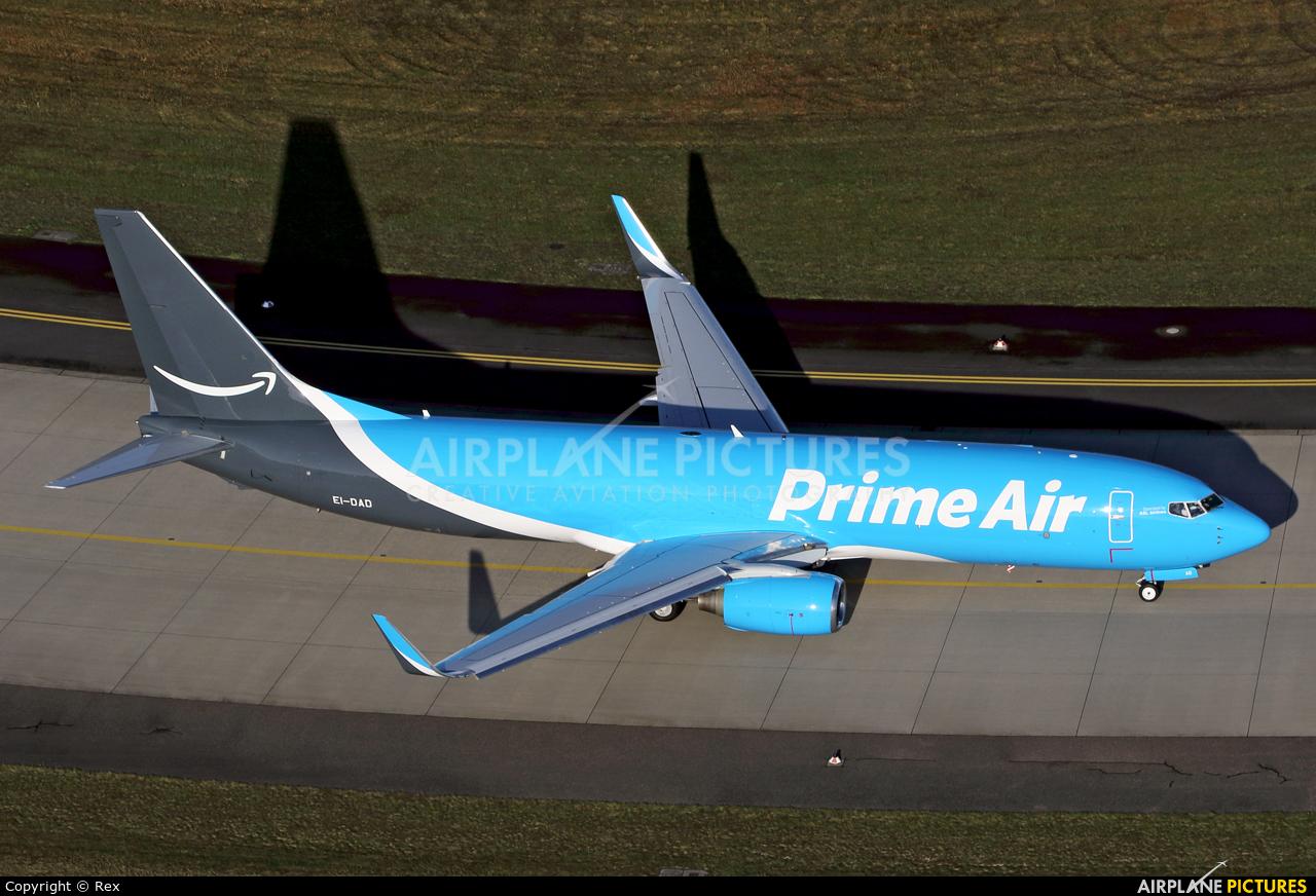 Amazon Prime Air EI-DAD aircraft at Cologne Bonn - Konrad Adenauer