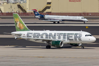 N912FR - Frontier Airlines Airbus A319