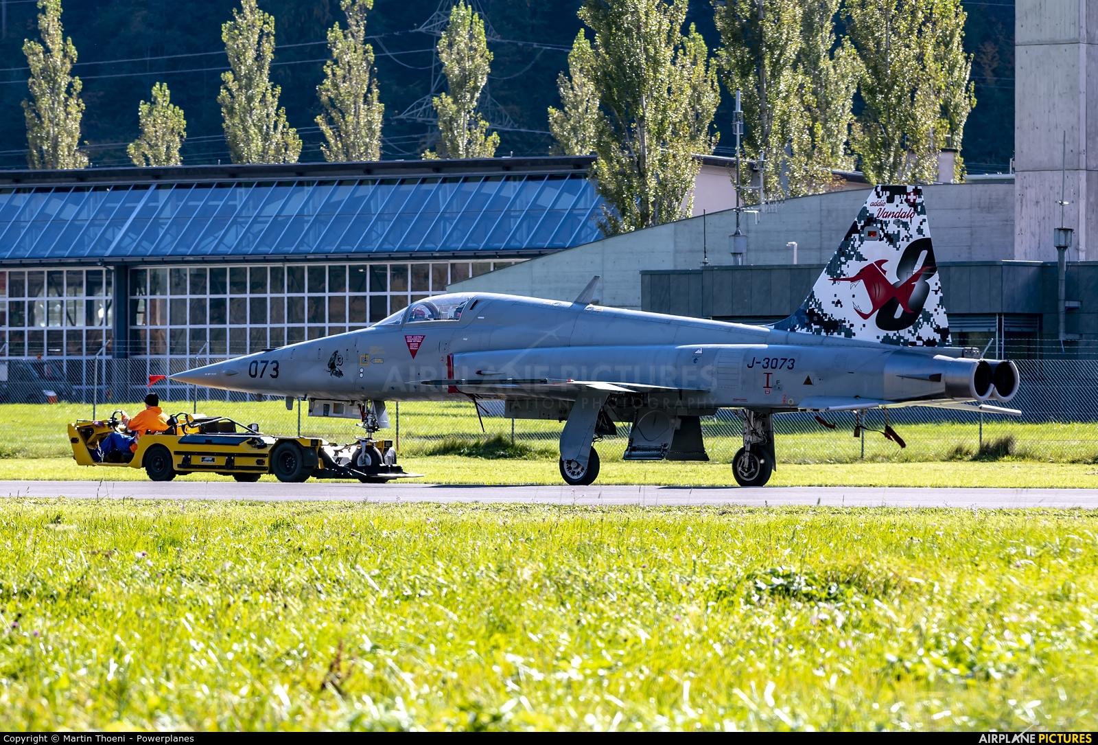 Switzerland - Air Force J-3073 aircraft at Meiringen