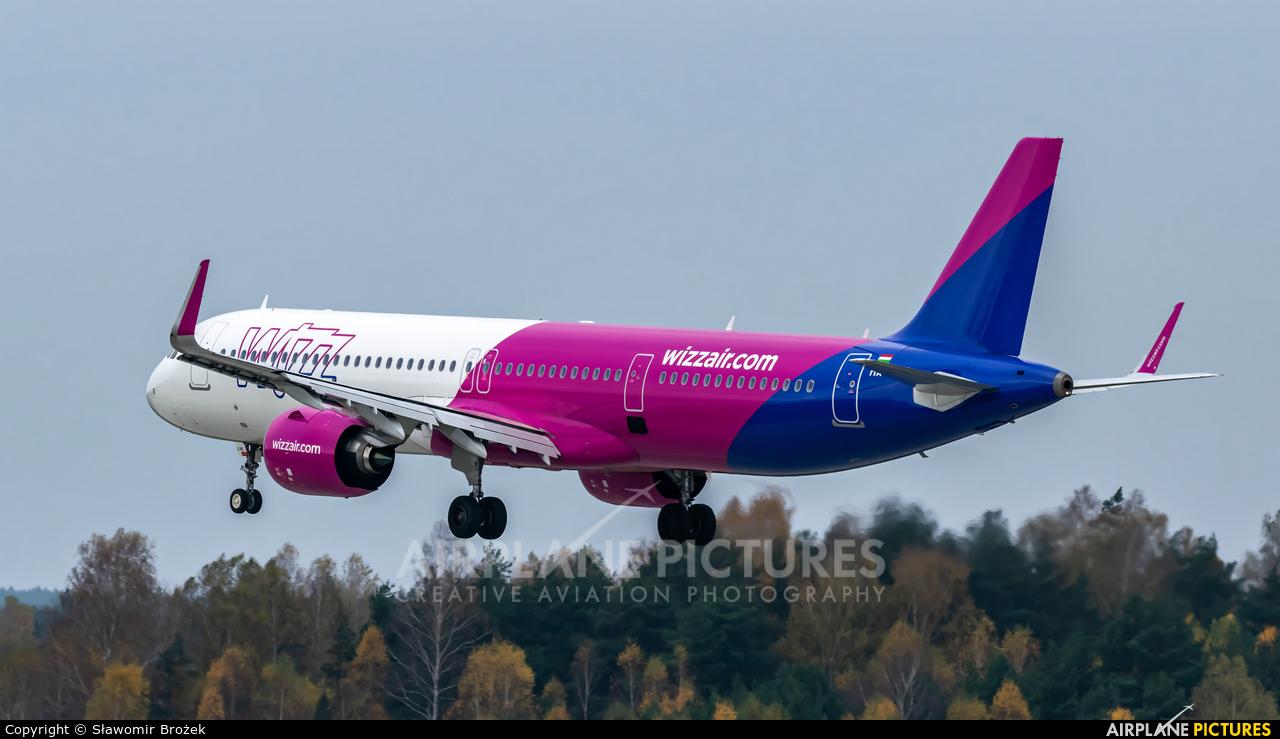 Wizz Air HA-LVK aircraft at Katowice - Pyrzowice
