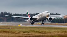 A6-EBN - Emirates Airlines Boeing 777-300ER aircraft