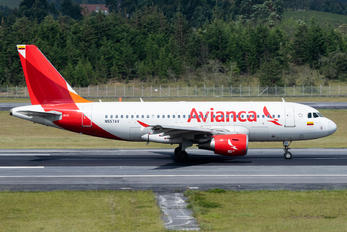 N557AV - Avianca Airbus A319