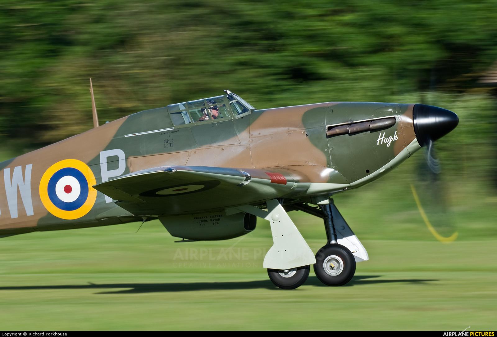 Private G-HITT aircraft at Old Warden