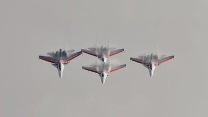 "- - Russia - Air Force ""Russian Knights"" Sukhoi Su-35S"