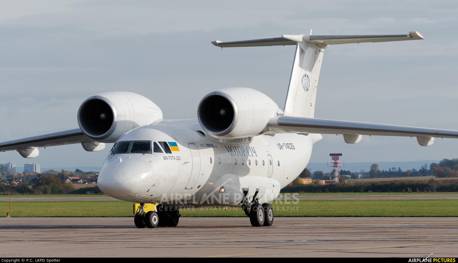 Motor Sich UR-74026 aircraft at Pardubice