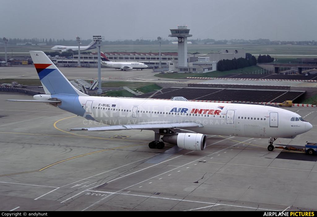 Air Inter F-BUAL aircraft at Paris - Orly