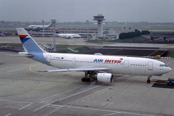 F-BUAL - Air Inter Airbus A300