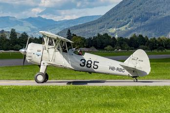 HB-RBG - Private Boeing Stearman, Kaydet (all models)