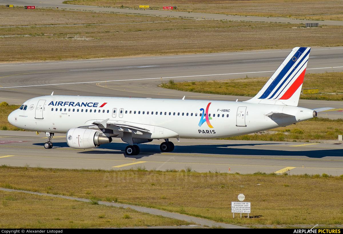 Air France F-HBNC aircraft at Marseille Provence