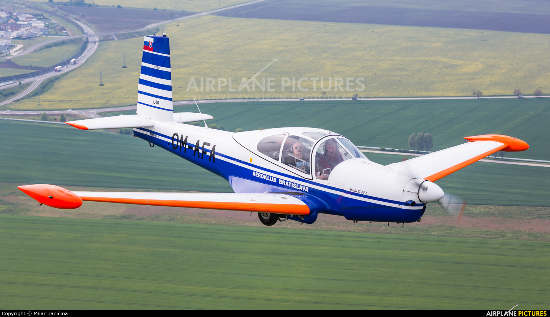Aeroklub Bratislava OM-AFA aircraft at In Flight - Slovakia