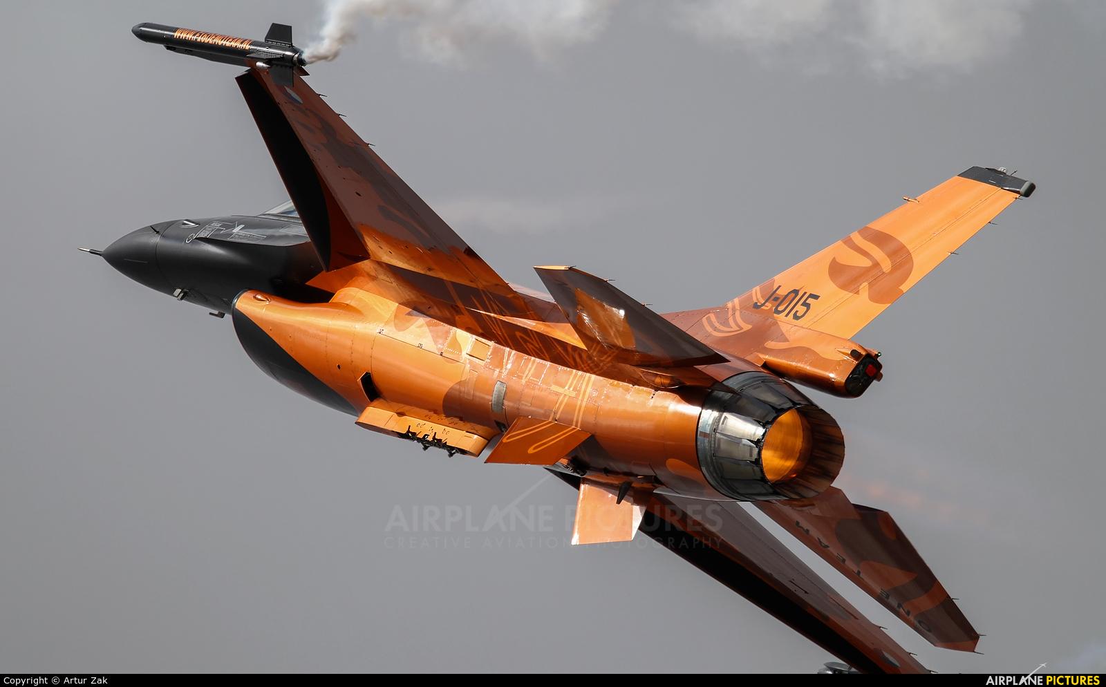 Netherlands - Air Force J-015 aircraft at Fairford