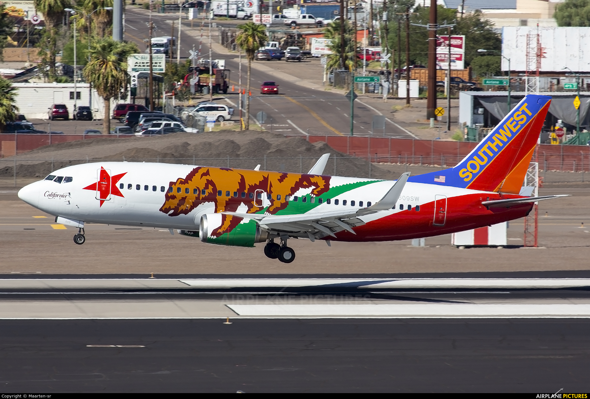 Southwest Airlines N609SW aircraft at Phoenix - Sky Harbor Intl