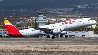 EC-ILO - Iberia Airbus A321