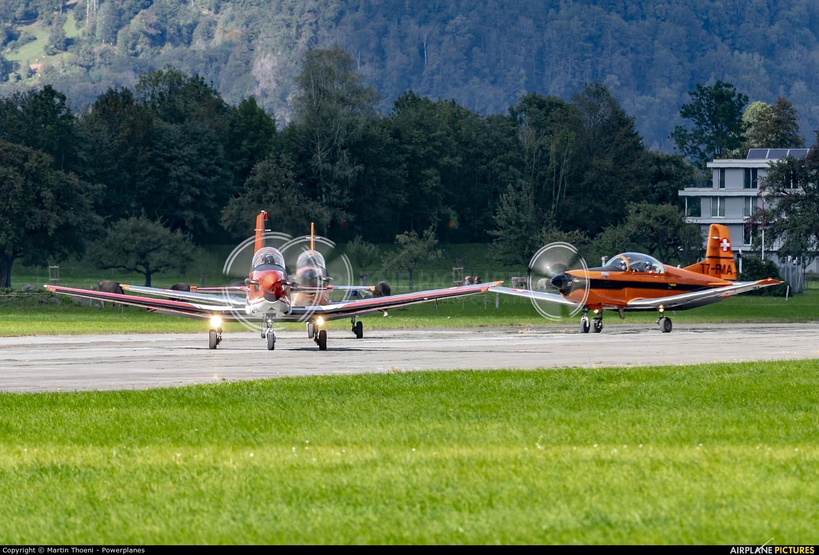 Private HB-HMU aircraft at Mollis