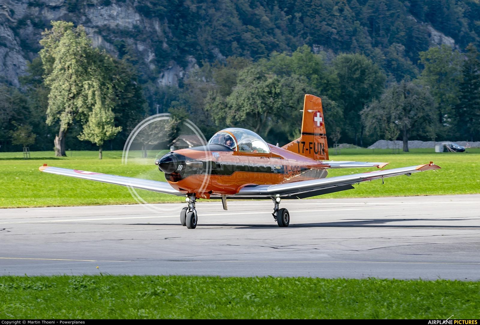FFA Museum T7-FUN aircraft at Mollis