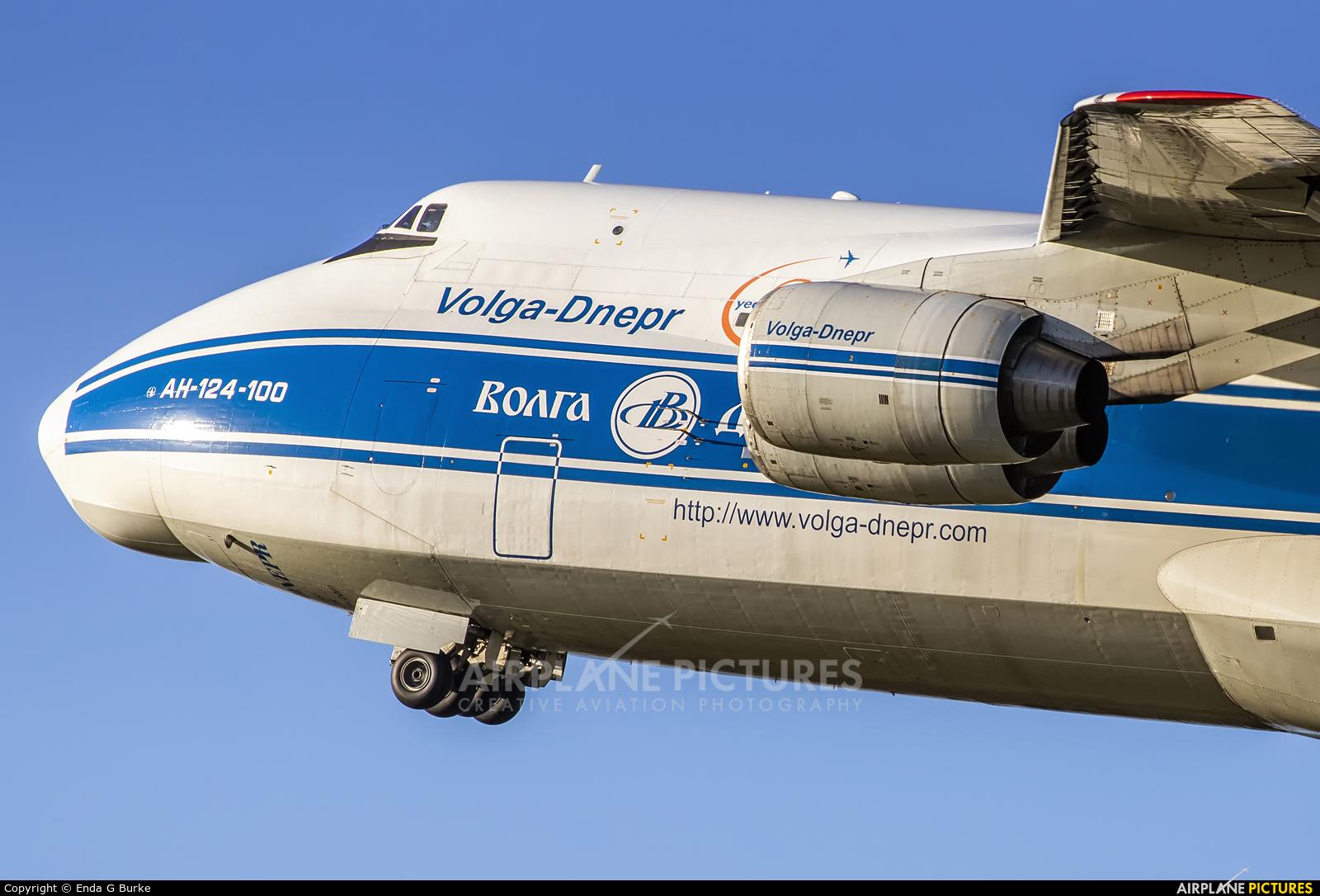 Volga Dnepr Airlines RA-82079 aircraft at Manchester