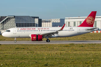 F-WWIK - Juneyao Airlines Airbus A320 NEO