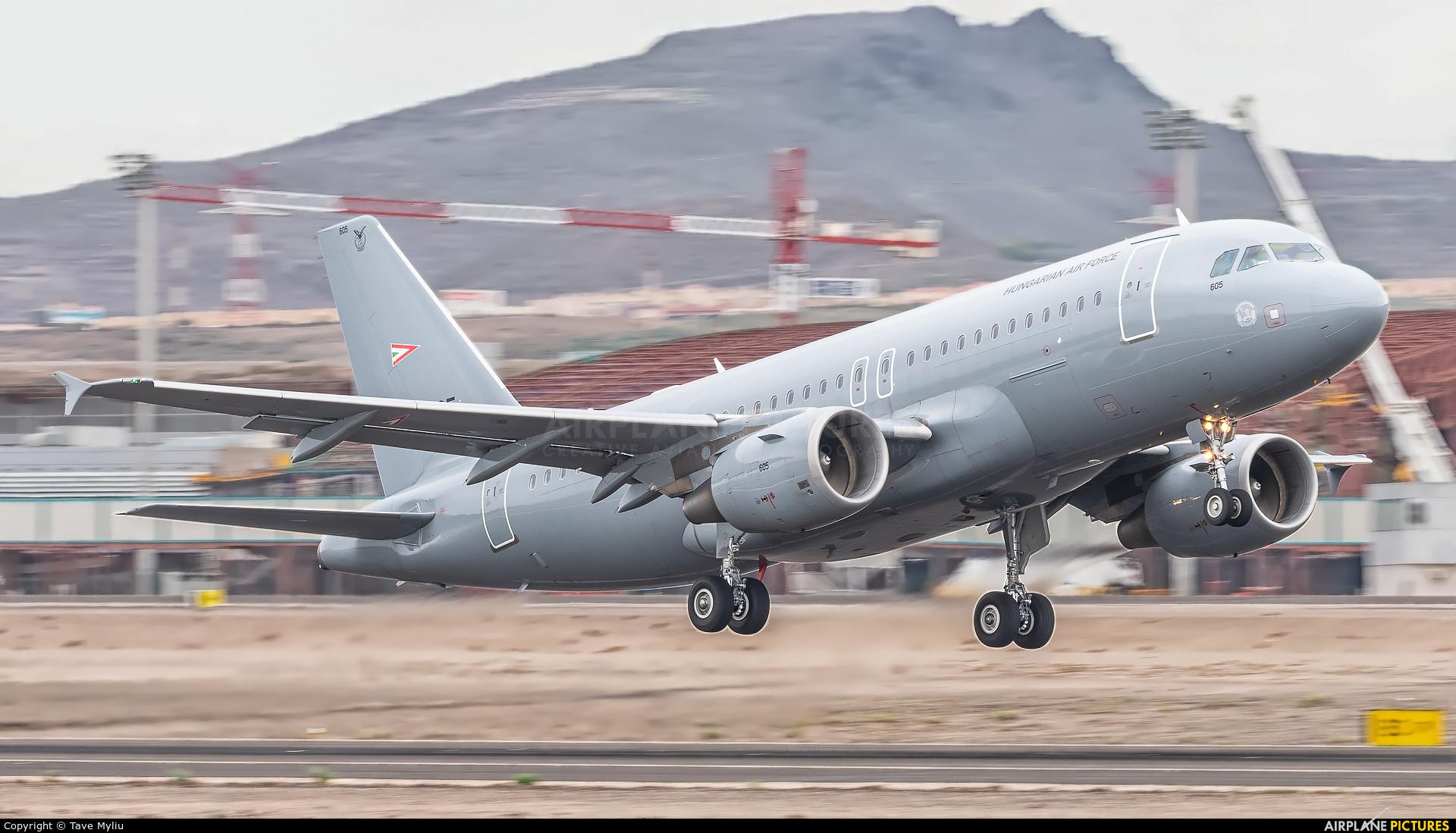 Hungary - Air Force 605 aircraft at Tenerife Sur - Reina Sofia