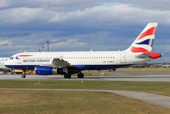 G-GATH - British Airways Airbus A320