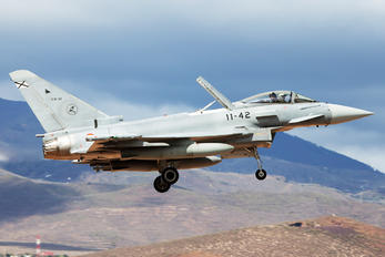 C.16-42 - Spain - Air Force Eurofighter Typhoon