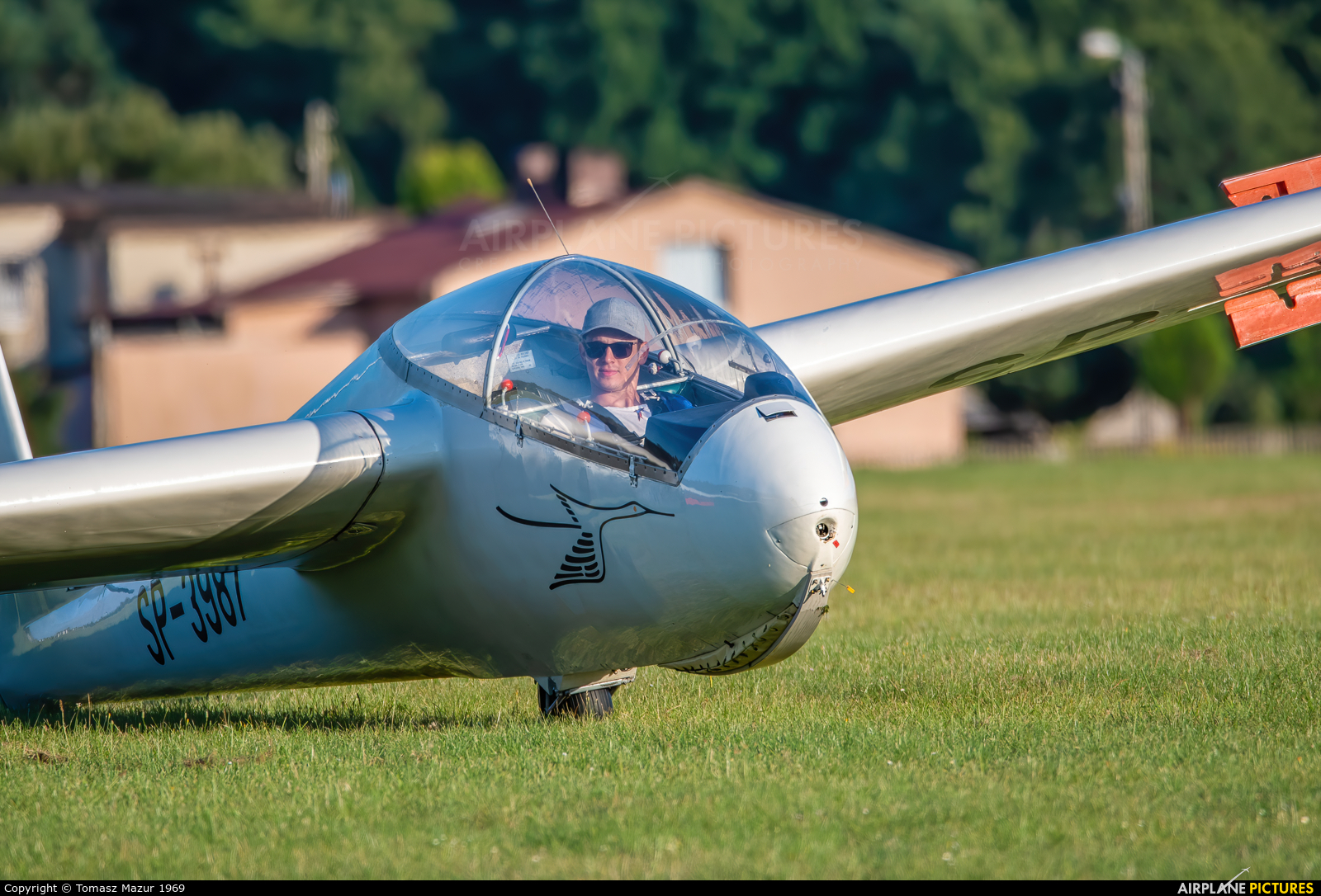 Aeroclub ROW SP-3987 aircraft at Rybnik - Gotartowice