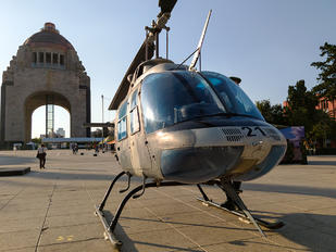 1621 - Mexico - Air Force Bell 206B Jetranger III