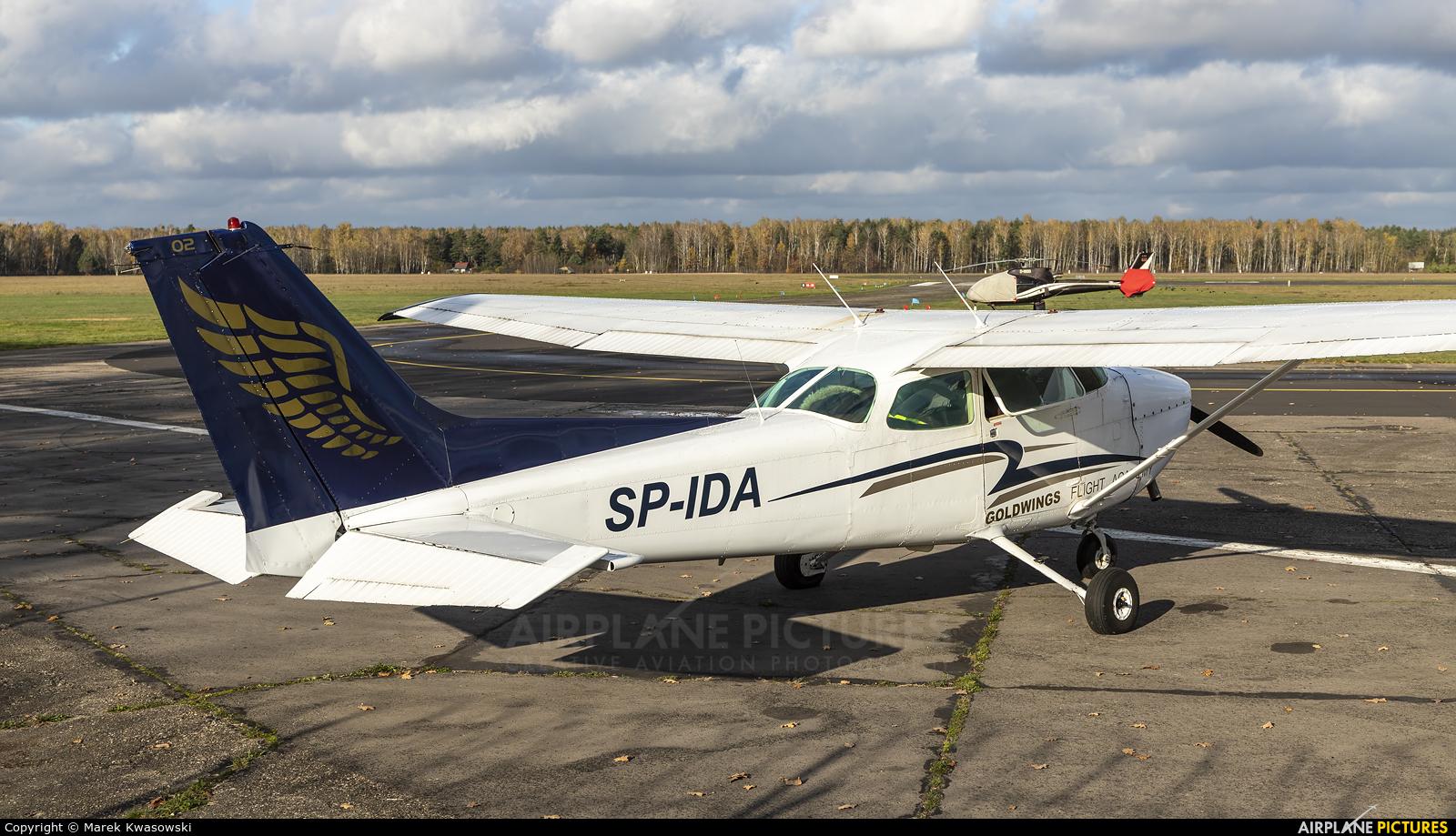 Goldwings Flight Academy SP-IDA aircraft at Warsaw - Babice