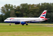 G-EUUS - British Airways Airbus A320 aircraft