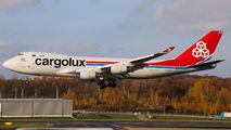 LX-UCV - Cargolux Boeing 747-400F, ERF aircraft