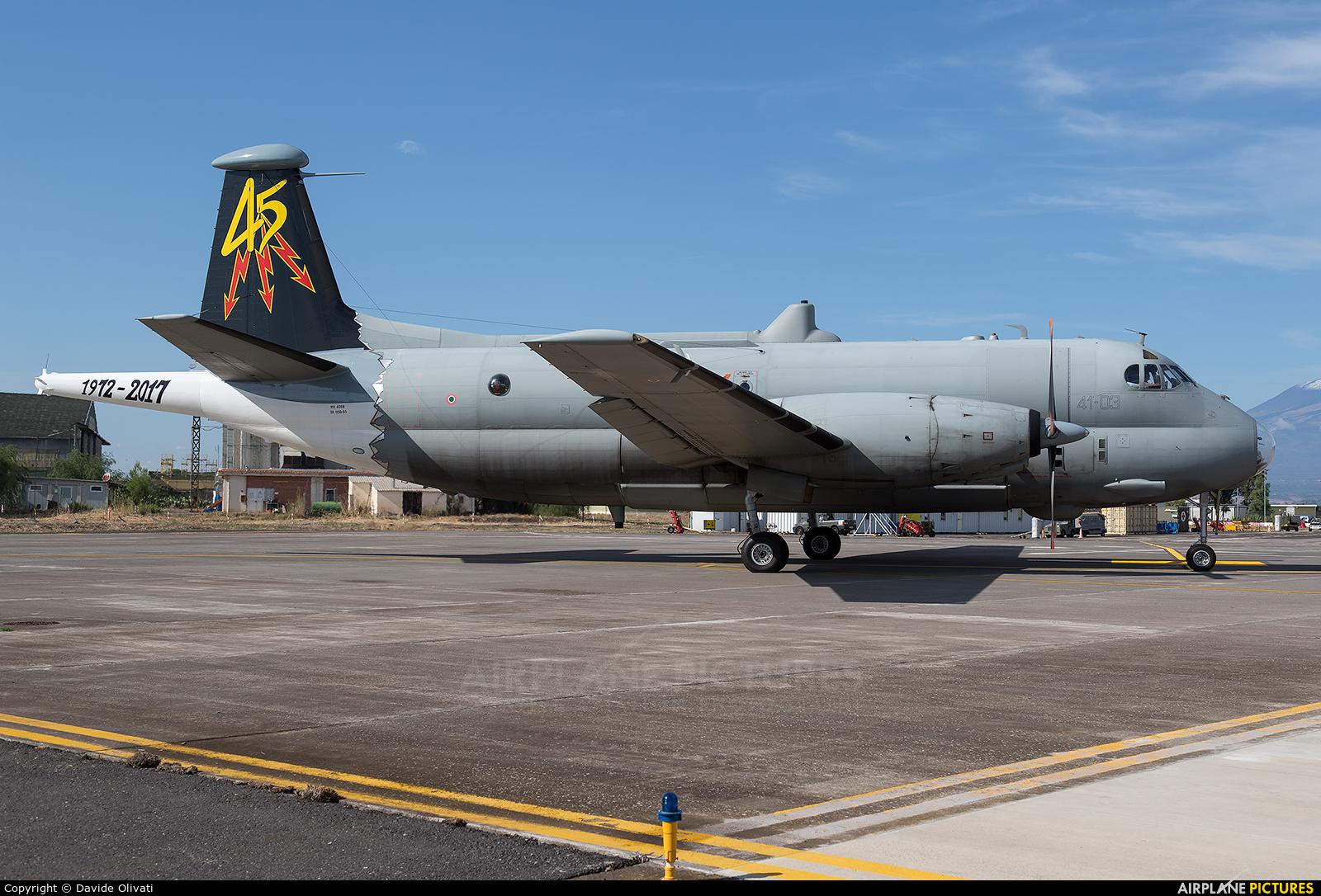 Italy - Air Force MM40118 aircraft at Sigonella