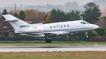 N818LX - Private Hawker Beechcraft 800XP