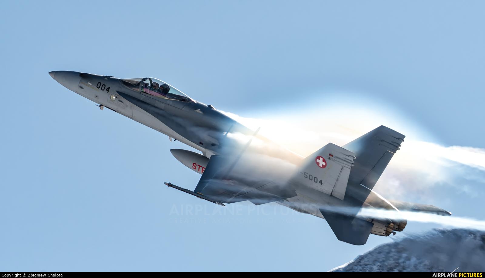 Switzerland - Air Force J-5004 aircraft at Axalp - Ebenfluh Range