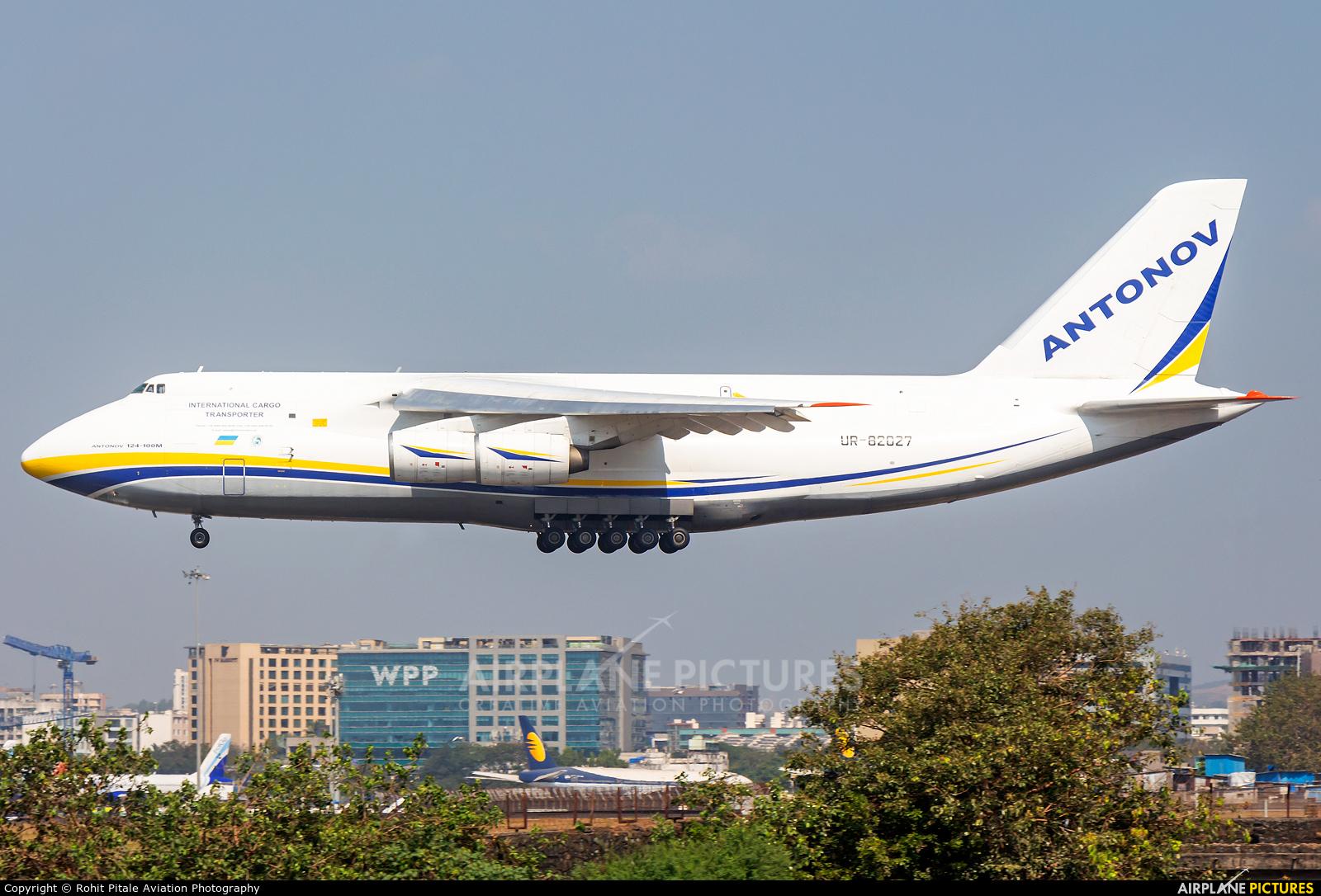 Antonov Airlines /  Design Bureau UR-82027 aircraft at Mumbai - Chhatrapati Shivaji Intl