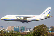 Antonov An124 mission from Mumbai to Phoenix via 6 onroute fuel stops title=