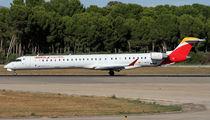 EC-MTZ - Air Nostrum - Iberia Regional Canadair CL-600 CRJ-1000 aircraft