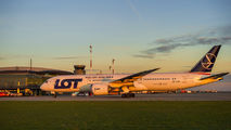 SP-LSD - LOT - Polish Airlines Boeing 787-9 Dreamliner aircraft