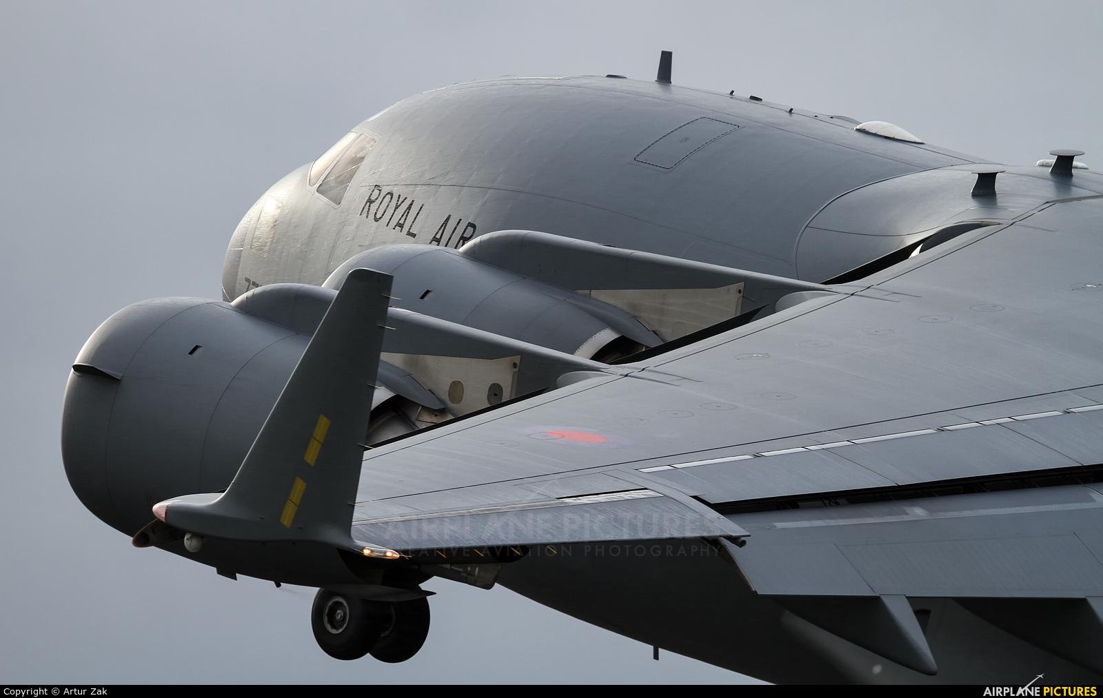 Royal Air Force ZZ177 aircraft at Fairford