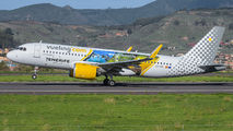 """Vueling A320neo wears """"Visit Tenerife"""" special colours title="""